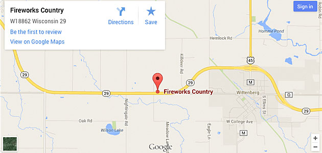 Fireworks Country